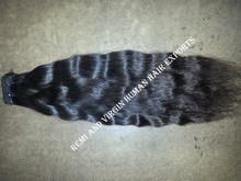 Unprocessed Virgin Human loose wave Hair 100g/pcs natural color Indian Hair extension