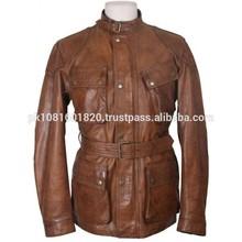 OEM high end custom winter denim jacket/leather sleeves denim jacket for men