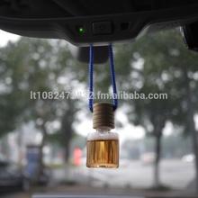 Hanging Liquid Wooden Cap Bulk Car Air Freshener Car Perfume 10ml