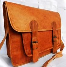 wholsale genuine leather satchel bags/vintage satchel/real leather satchel