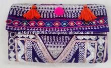 New Arrival 2015 Indian handmade antique embroidered banjara bag purse shoulder bag