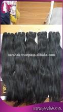 2015 new wavy model Vietnamese wave human hair weft - Double drawn hair from Sarahair