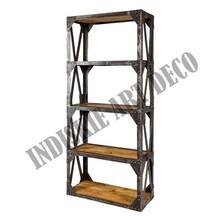 Vintage Industrial Shelving Industrial Vintage Shelves Bookcase