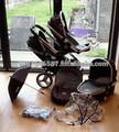 Caldo nuovo icanndy peacch fiore di black jack doppia seduta carrozzina gemelli passeggini travel system(sigillato in arrivo)