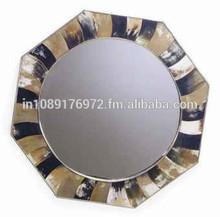 horn mirror frame