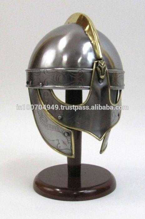 Medieval Helmet Horns Viking Helmet Medieval Armour