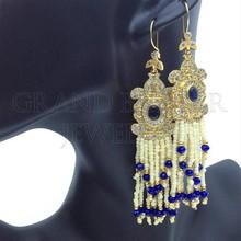 Istanbul Jewellery Brass Earrings From Turkey istanbul Handmade Ottoman