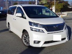 Toyota vellfire 2.4Z Platinum Selection II ANH20W 2010 Used Car