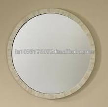 Decorative Bone mirror frame