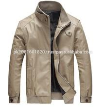 wholesale used pure leather jacket for men black leather jacket mens