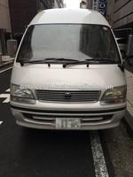 Japanese high quality popular toyota diesel van used cars hiace in japan turbo reasonale price 10 passengers