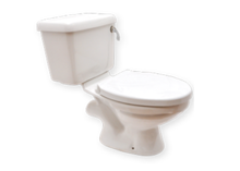 Uniqe Water Closet With Cistern - One Piece Toilet Price