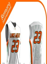 new basket ball uniform/custom/sublimated/2015