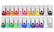 Vking Swivel Usb Flash Drives Metal & Plastic Swivel Usb Pen Drive Stick With 2gb, 4gb, 8gb, 16gb, 32gb, 64gb