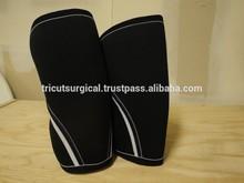 5mm Powerlifting crossfit black knee sleeve neoprene