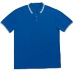 Royal Blue-White T-Shirt CT-710-08
