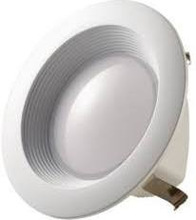 White 12W LED 4Inch Retrofit Recessed Downlight Trim