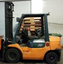Used 2.5T Toyota Diesel Forklift (7FD25)