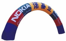 Giant vault inflatable arch