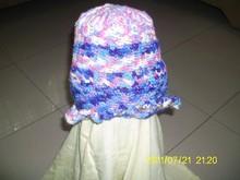 Hand Crocheted Girl's Hats