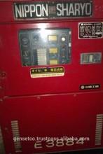 Used Original 37kVA Japanese Nippon Sharyo Sounproofed Diesel Electric Generator