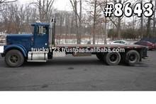 8643 - 1995 INTERNATIONAL 9300; 23' STEEL FLAT W/ PIGGYBACK SETUP