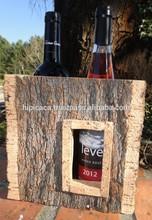 wine box made of cork