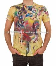 Custom Design Sublimation Printed T shirts, 3D sublimation T shirts, Digital Sublimation Printed T shirts