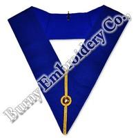 Masonic Fraternal Regalia Embroidery Collars