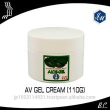 "male delay cream, 50% Aloe Vera cream ""AV Gel Cream"" made in Japan"