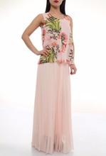 chiffon long maxi summer dresses 2015 made in Turkey