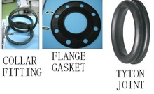 rubber gasket/joints for DI pipe, tyton, ductile pipe fittings, EPDM