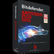 Bitdefender Antivirus Plus 2015 1 year - 1 user