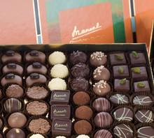 MANUEL - QUADRO Chocolate original from Swiss soft candy