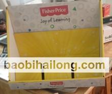 Amarelo indicação do contador de papelão