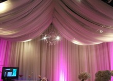 luxury Wedding curtains and drapes designs ceiling drapery fabric