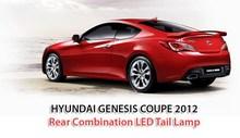 Hyundai Genesis Coupe 2012 Rear Combination LED Tail Lamp
