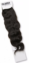 "Classy Signature 100% Virgin Malaysian Remy Human Hair - Virgin Spanish Wave 28""~30"" - (1B - Off Black) (Pack of 2)"