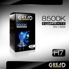 H7 GREAD 8500K 55W XENON LOOK HALOGEN BULB SUPERWHITE