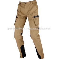Stylish waterproof wand windproof fabric motorcycle 6 pocket cargo pants