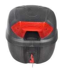 Motorcycle Luggage Trunk Top Lock Case Storage Tail Box