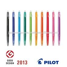 Good design erasable wooden ballpoint pen made in Japan
