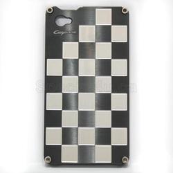 Black Color Gild Design Metal Case for iPhone 4S & 4