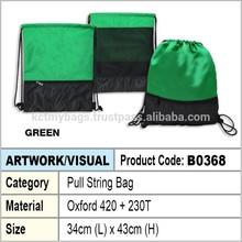 pull string bag