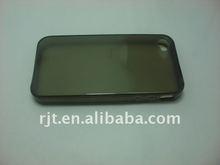 transparent black tpu case for iphone 4s