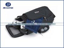 portable zipper closure golf shoe bag