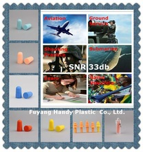 Soundproof Ear plugs for Aviation Submarine Ground service Shooting Practice Exam