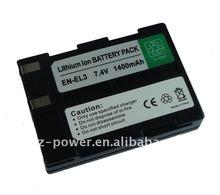 Enviromental protection replacement battery for Nikon EN-EL3 ENEL3