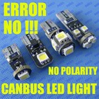 T10 194 W5W 168 158 2825 558 NO error canbus car led light