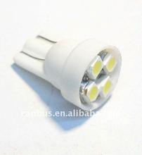 T10 W5W 194 Car White 4 8 SMD LED Side Lights Bulb 12V